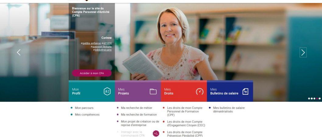 'ouvre au secteur public et aux chambres consulaires (www.moncompteactivité.gouv.fr)