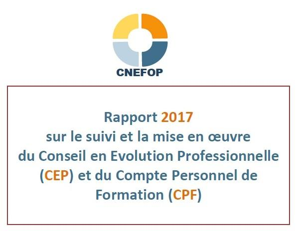 Rapport CNEFOP 2017